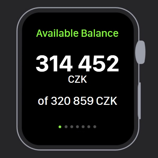 Banking for Apple Watch or any other smartwatches