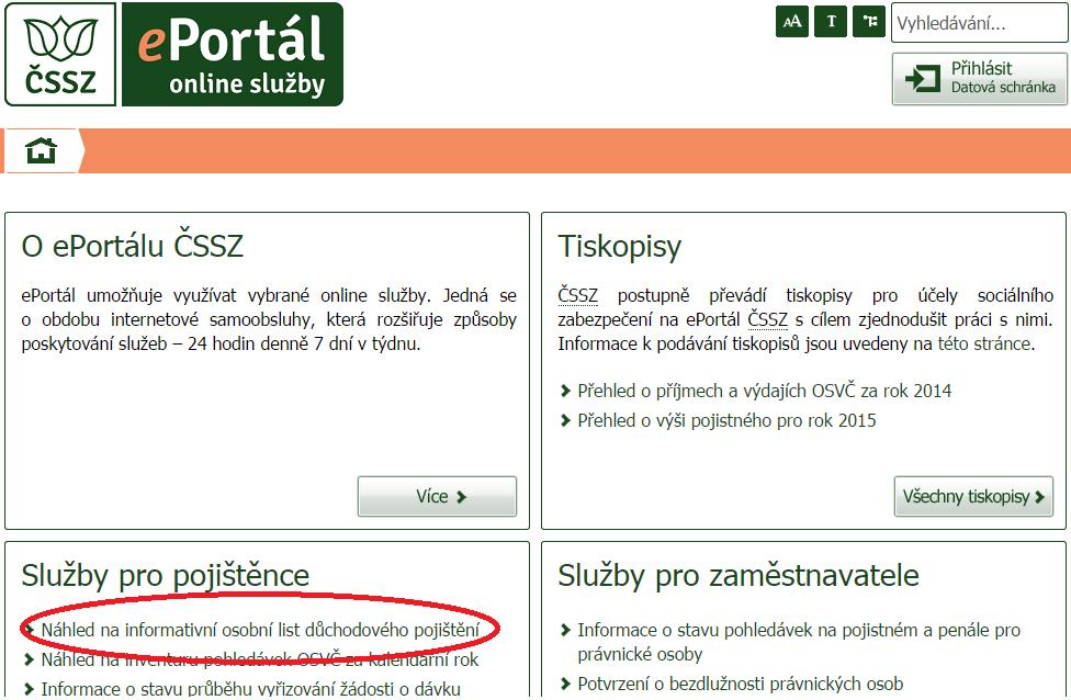 005737e1d ePortál ČSSZ ponúka online služby len pre riadne identifikované a  autentizované osoby. Nevytvoril svojim užívateľom žiadne vlastné prístupové  údaje, ...