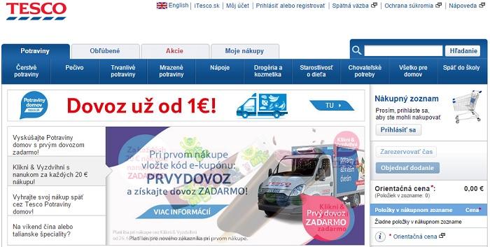 ffa0208a7019 iTesco.sk - online nákup spotrebného tovaru