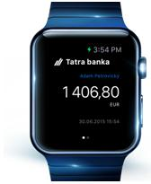 Tatra banka Apple Watch